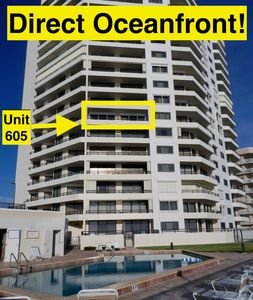 Photo for Daytona - Direct Oceanfront Condo - 30' Balcony Overlooking No-Drive Beach