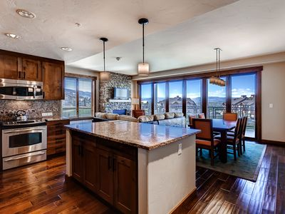 Photo for Stunning view & upscale condo w/shared pool, hot tubs, fitness, game room & more