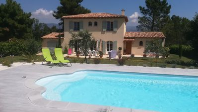Photo for Provencal villa in quiet Montauroux