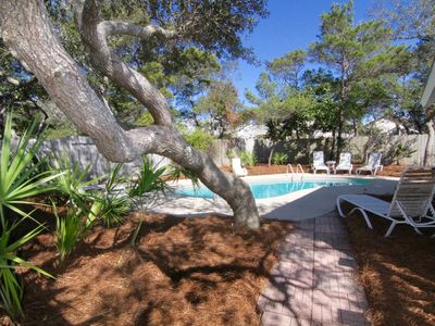 Photo for GOLF CART INCLUDED | PRIVATE POOL | 1 BLOCK TO THE BEACH | 4 BED 3 BATH PARADISE