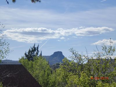 Thumb Butte,  Balcony View!