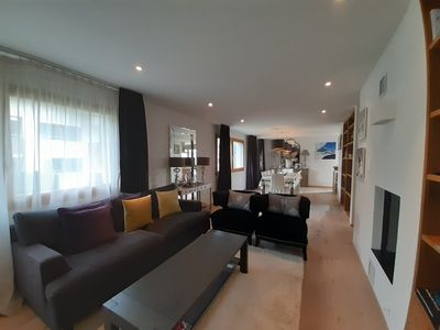 Photo for Luxurious family-friendly apartment with a fireplace, sauna and indoor playroom