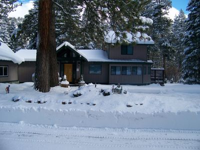 Photo for South Lake Tahoe River House w/ Hot Tub