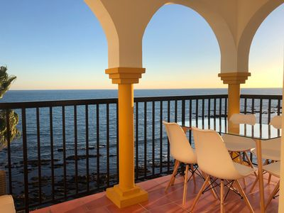 Photo for BALCON DEL MAR, APARTMENT ON THE BEACHFRONT