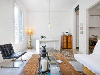 Photo for Eclectic apartment in central, fresh & fashionable part of Barcelona
