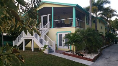 Photo for Large  Key West Style Home On The Water With Private Boat Dock And Fire Pit Area