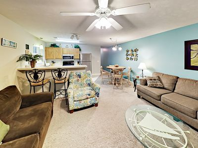 Photo for Fall Savings! Sunny 2BR in the Heart of Myrtle Beach - Walk to Dining & Beach