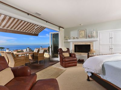 Photo for La Jolla Beach Home with Ocean Views, One Block from Beach