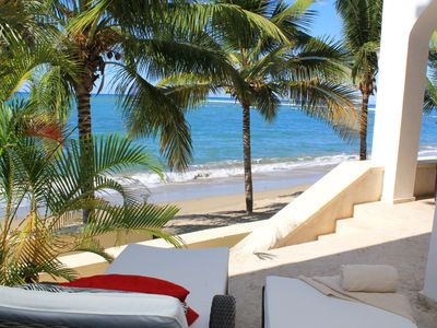 Photo for Beach Palace Cabarete, Luxurious Beachfront Living at it's very Best...