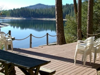 Photo for Amazing and Spectacular view, private dock, family cabin sleeps up to 14