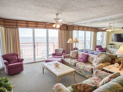 Photo for South Shore Villa Unit 607! Stunning Oceanfront Premium Condo. Book your get away vacation today!