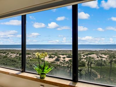 Photo for Oceanfront Condo - Ocean Views from All rooms, Pools, WiFi, HDTVs, Tennis, Bike