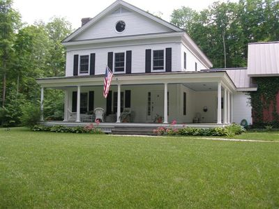 Photo for Lovely, privately situated home with the true feeling of Vermont