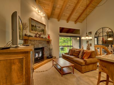 Photo for Serenity: 2  BR, 1.5  BA Townhouse in Carnelian Bay, Sleeps 5
