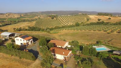 Photo for farmhouse surrounded by greenery, beautiful landscape, surrounded by olive trees, hazelnuts, g