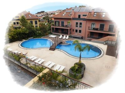 Photo for Modern apartment in private complex - walking distance of centre of Funchal