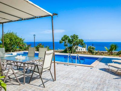 Photo for Villa Cornelia - This spacious Villa includes a private pool, sea views & WI-FI