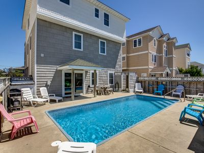 Photo for Killin' Time | 560 ft from the beach | Dog Friendly, Private Pool, Hot Tub