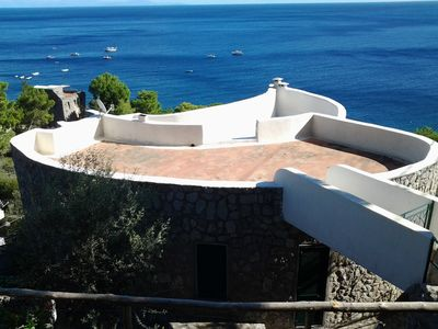 Photo for la chiocciola nerano panoramic villa overlooking the sea