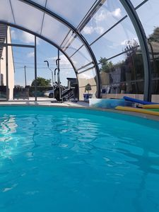 Photo for Guesthouse, indoor swimming pool heated since July 2015, and Wi-Fi