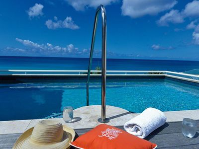 Villa Luna  -  Beach View - Located in  Fabulous Cupecoy with Private Pool