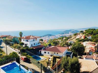 Photo for Luxury villa Investingspain with sea views, pool and jacuzzi