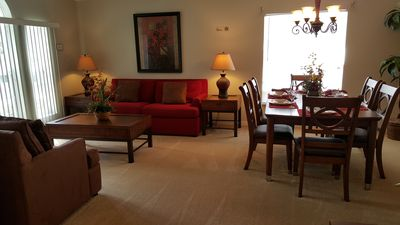Formal Dining room and living room