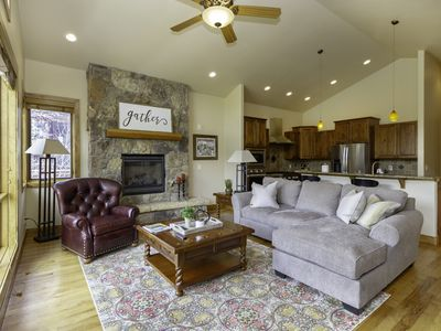 Photo for Luxury 5 bedroom home in Keystone with King beds, hot tub, garage, and wifi