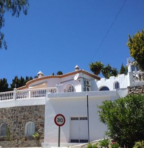 Photo for Magnificent Villa Stunning Sea Views, Private Pool, Jacuzzi and Sauna