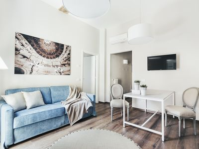 Photo for Magic Flute Apartment with large terrace in the center of Bologna