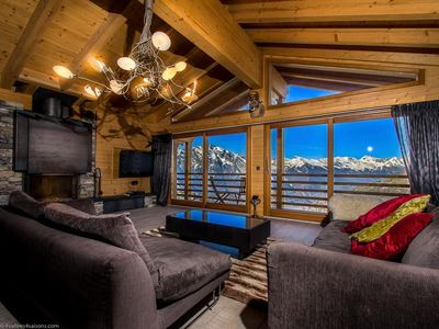 Photo for Chalet Auriane - 5 Star Catered Spa Chalet with breath-taking mountain views