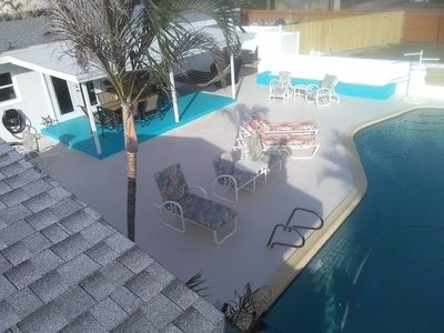 Photo for Sweet!! Heated Pool!!, Minutes from Beach & Oars and Paddles Park 4 Bed/3 Bath