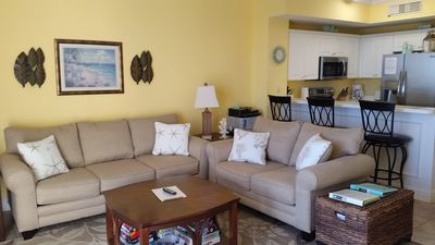 Photo for Beautiful Beach Front Condo w/ Gorgeous Views/Free Beach Svc/New Furnishings