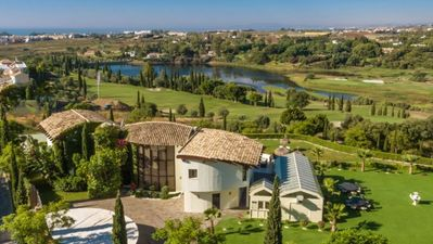 Photo for Exceptional Ten bedroom Villa With Heated Pools at Los Flamingos in Spain