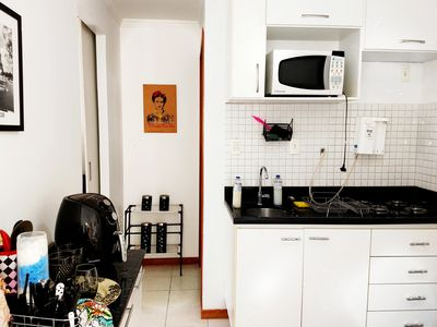 Photo for Quiet room in Águas Claras with kitchen and Wi-Fi