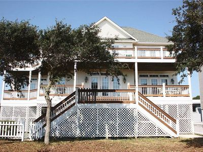 Photo for Point Of View: 5 BR / 3 BA home in Oak Island, Sleeps 10