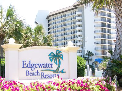 Front Entrance of Edgewater