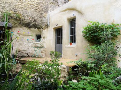 Photo for A troglodyte house in the center of Tours / Loire Valley