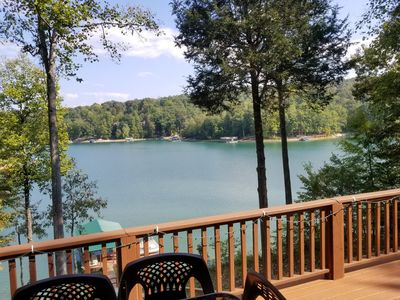Photo for Lake Front Prop, includes two kayaks, great covered dock w/ jet ski dock.