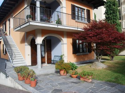 Photo for House with garden just steps from the beach and the center