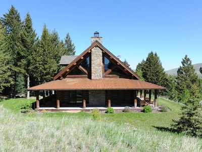 Photo for Towering Pines - Stunning Log Home in Sun West Ranch