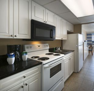 Photo for Oceanfront Efficiency w/ Balcony + Official On-Site Rental Privileges