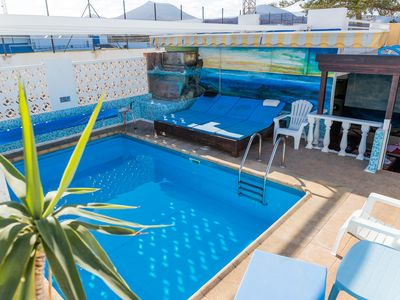 Photo for Original and great Villa 2 minutes from the beach. Ideal for children and large groups