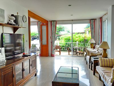 Photo for Baan Poolom - 2Br by beachfront 044