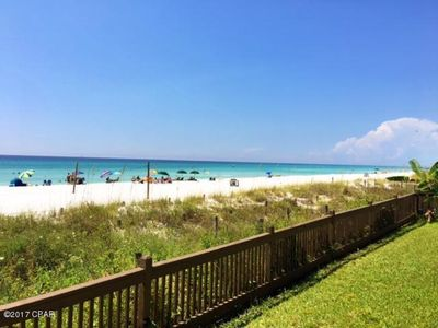 Photo for New Listing! Mariner East-Ground floor, beach front condo (Sleeps 5)