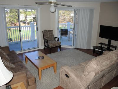 Photo for 1 Bedroom, 1 Bathroom, Full Kitchen, Golf Course View, Close to Beach in Calabash, NC(1609M)