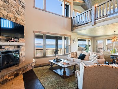 Photo for Spacious Bear Lake home w/ access to a shared pool, hot tub, sports courts, gym