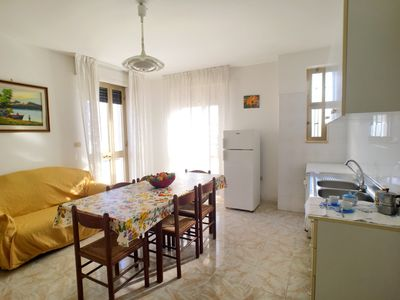 Photo for Apartment in Torre San Giovanni 100 meters from the sea.