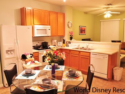 Photo for 3 Bedroom Townhome In Paradise Cay, Sleeps Up To 7, Just 4 Miles To Disney