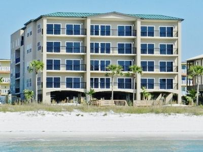 Photo for Luxury Beachfront Condo with Rooftop Pool & Hot Tub, Elevator, Free Wi-Fi